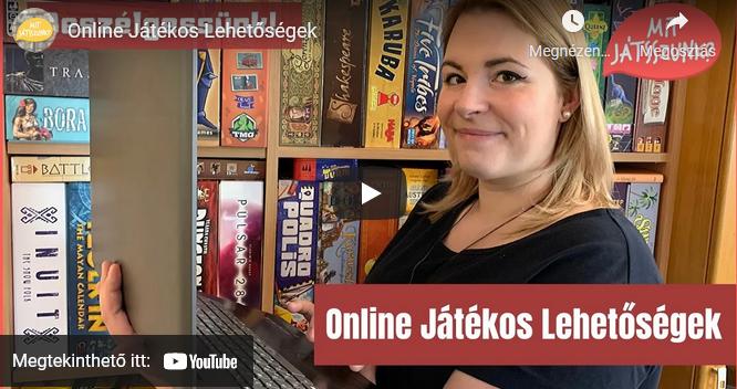 Online társasjátékos lehetőségek