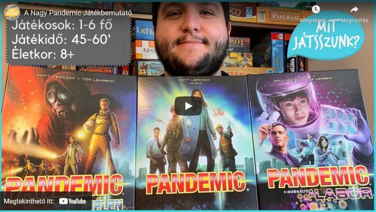 A Nagy Pandemic Játékbemutató