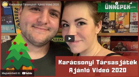Karácsonyi Társasjáték Ajánló – 2020