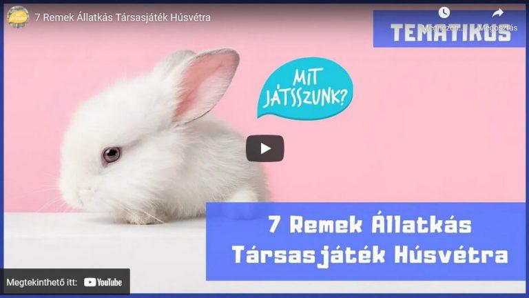 7 Remek Állatkás Társasjáték Húsvétra